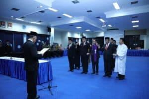 Usai Dilantik Pejabat Baru Diminta Bekerja Dengan Gembira