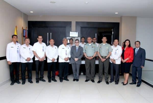 Bahas Alternatif Development, BNN Berdialog dengan Kepolisian Nasional Kolombia