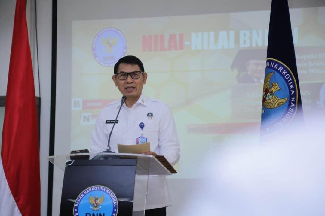Induction Training Nilai-Nilai BNN RI Dorong Pegawai Miliki Kompetensi dan Produktivitas Kerja Terintegrasi