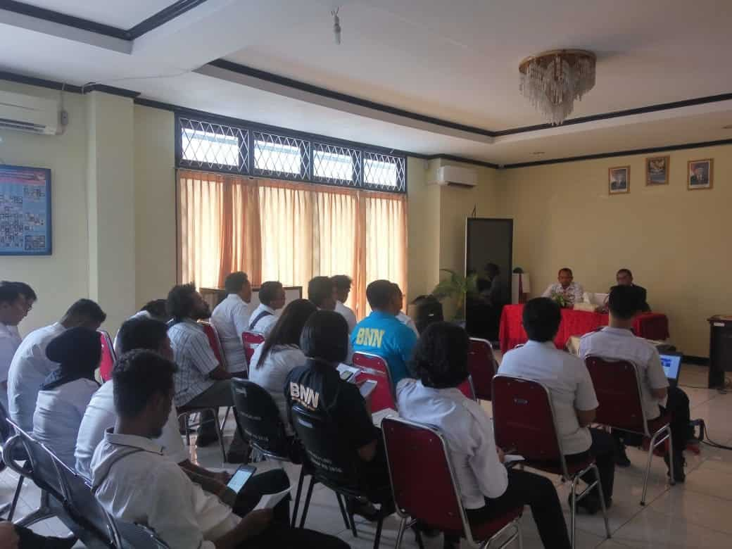 Sosialisasi Pengawasan Intern di BNNP Papua Barat