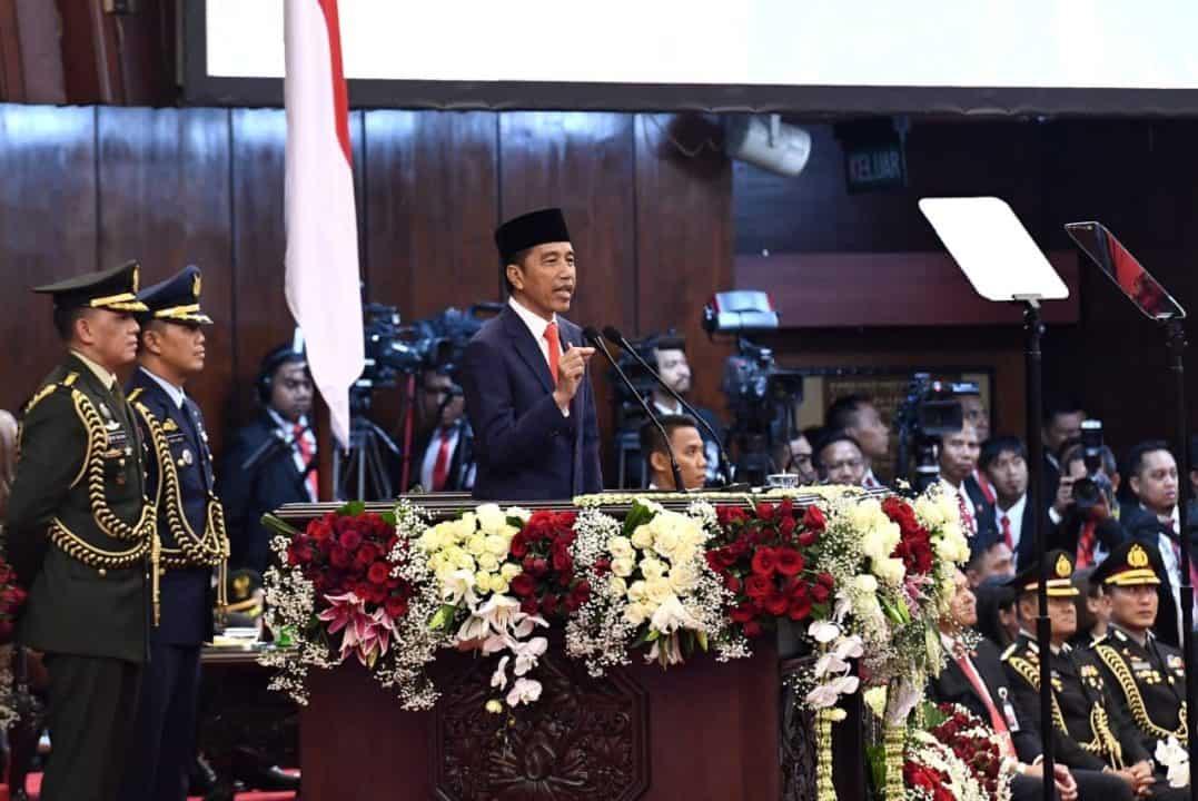 Pidato Pelantikan Ir.H. Joko Widodo, Presiden RI Periode 2019 – 2024
