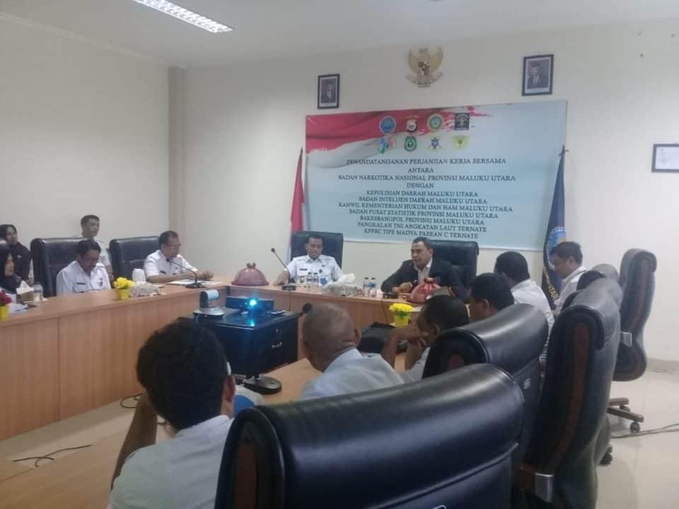 Sosialisasi Pengawasan Intern di BNNP Maluku Utara