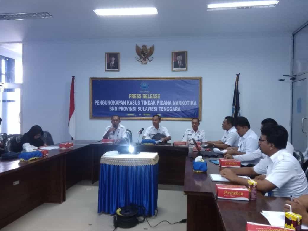 Sosialisasi Pengawasan Intern di BNNP Sulawesi Tenggara