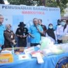 BNN Musnahkan Narkoba Dari Jaringan Sindikat Internasional
