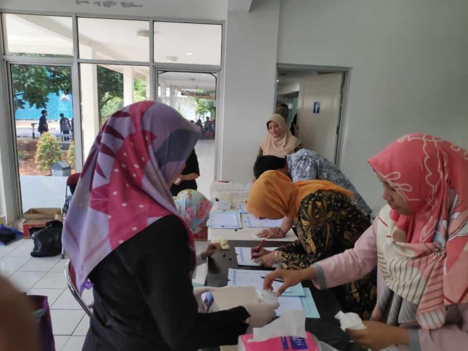 Wujudkan Kampus Bersih Narkoba, Seluruh Civitas Akademika UNSADA Jalani Tes Urine
