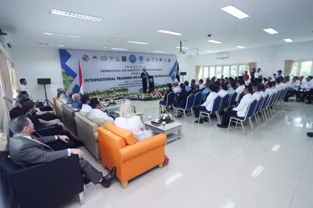 BNN Bangun Sinergitas Antar Badan Hukum, Melalui Pelatihan Bertaraf Internasional