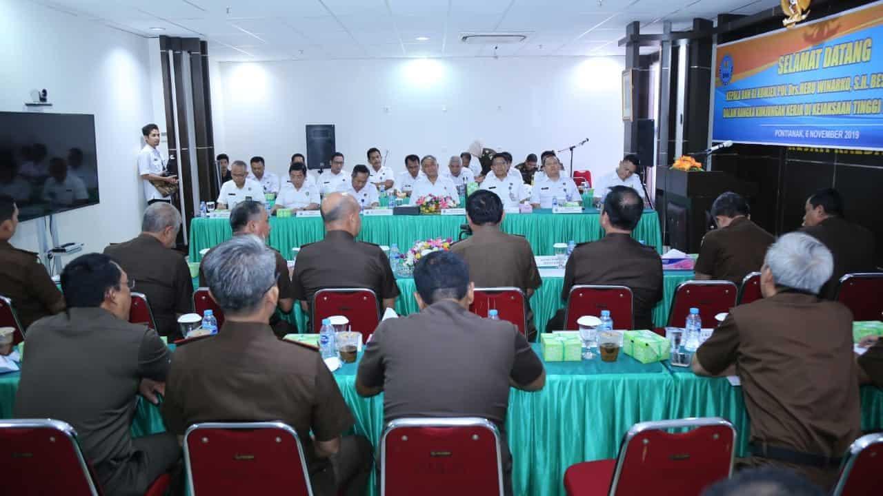 Jajaran Kejaksaan Tinggi Kalimantan Barat Siap Menjadi Penyuluh P4GN