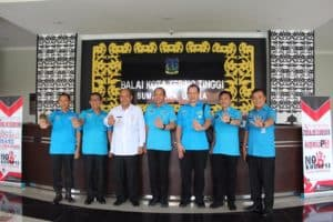 Ungkap Ganja 191 Kg, Walikota Tebing Tinggi Beri Penghargaan Kepada Deputi Bidang Pemberantasan