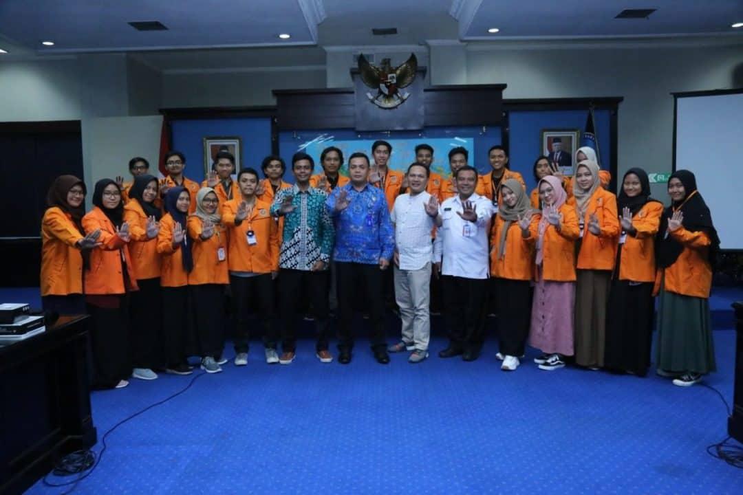 Karo Humpro BNN Terima Audiensi 100 Mahasiswa Universitas Ahmad Dahlan Yogyakarta