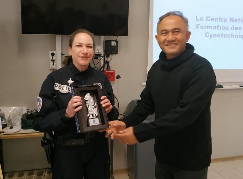 Kepala BNN RI Kunjungi Pusat Pelatihan K-9 Kepolisian Perancis