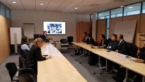 Delegasi BNN RI Kunjungi Markas Besar Interpol di Lyon Perancis