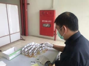 Inner City Management Kembali Laksanakan Tes Urine