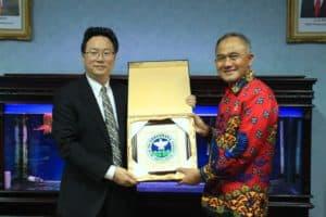 Kunjungi Kantor BNN, Sekjen NNCC Cina Terkesan dengan Social Media Center