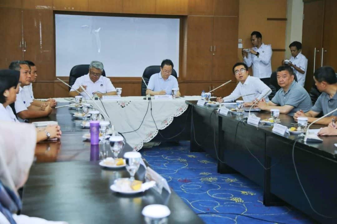 Sekjen Badan Narkotika China Kagum Terhadap Fasilitas Terbaik Yang Dimiliki BNN RI