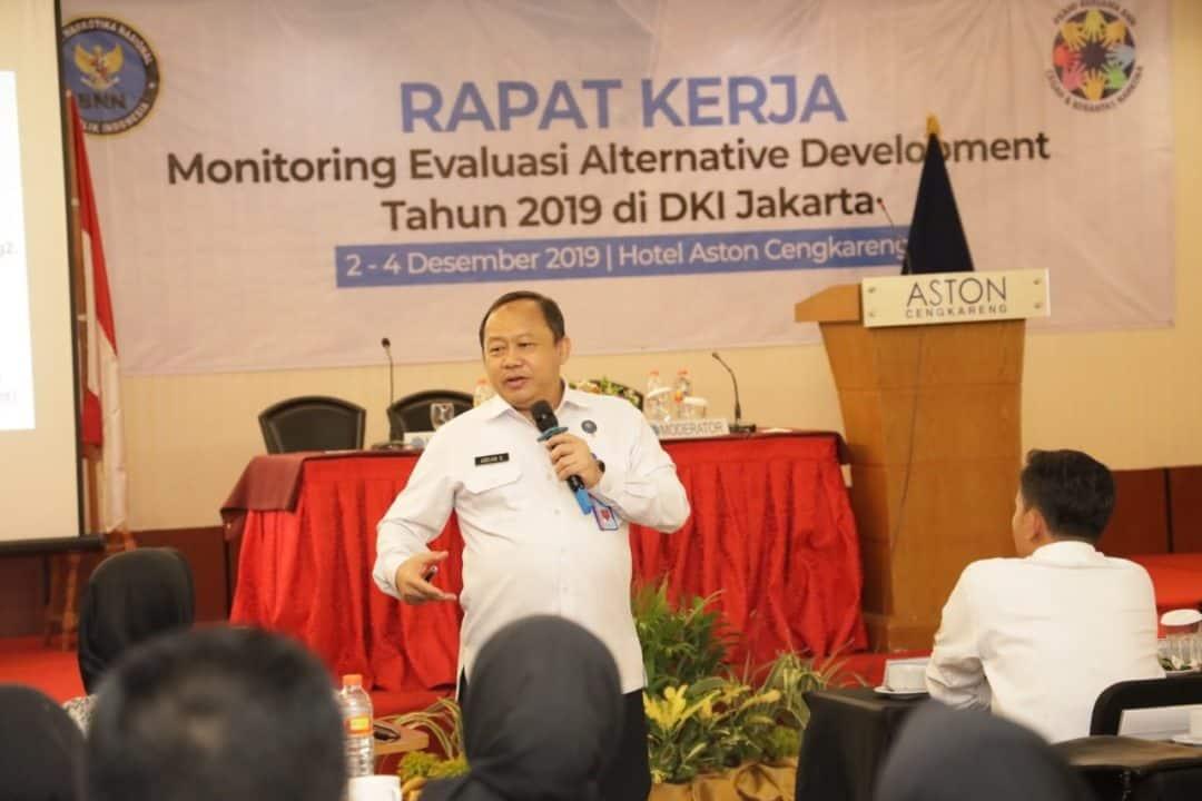 Deputi Bidang Pemberdayaan Masyarakat BNN Gelar Monev Alternative Development T.A 2019