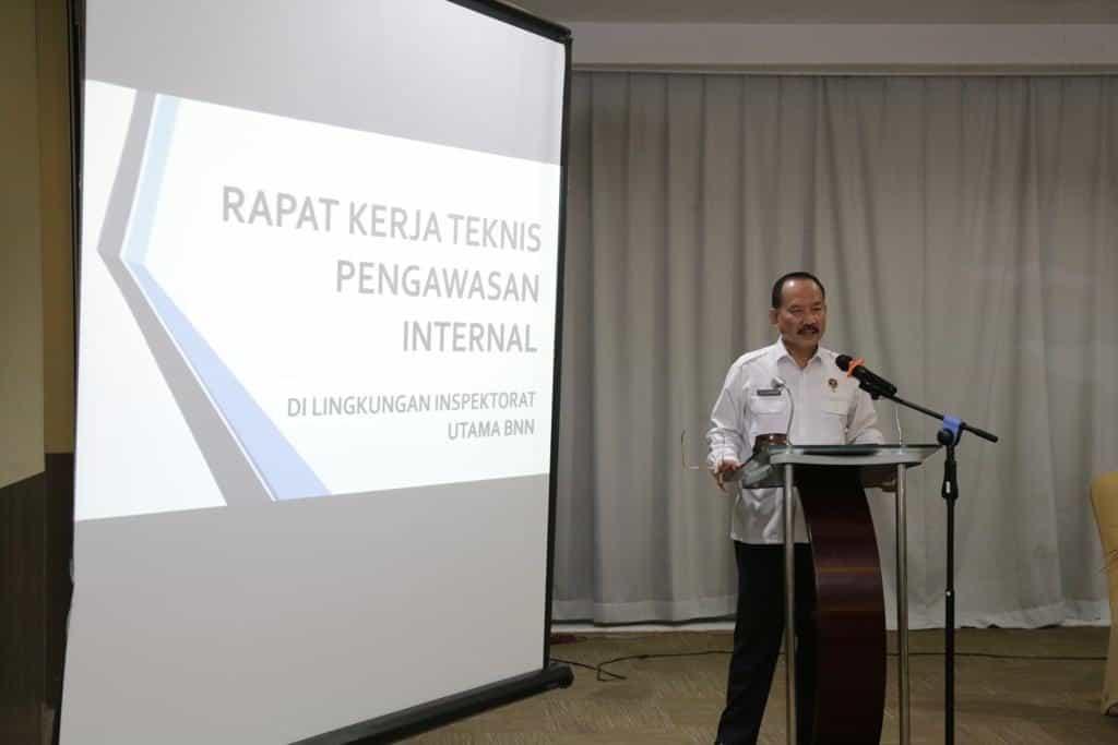 Rakernis Inspektorat BNN Wujudkan Aaparat Pengawasan Internal yang Profesional dan Terpercaya