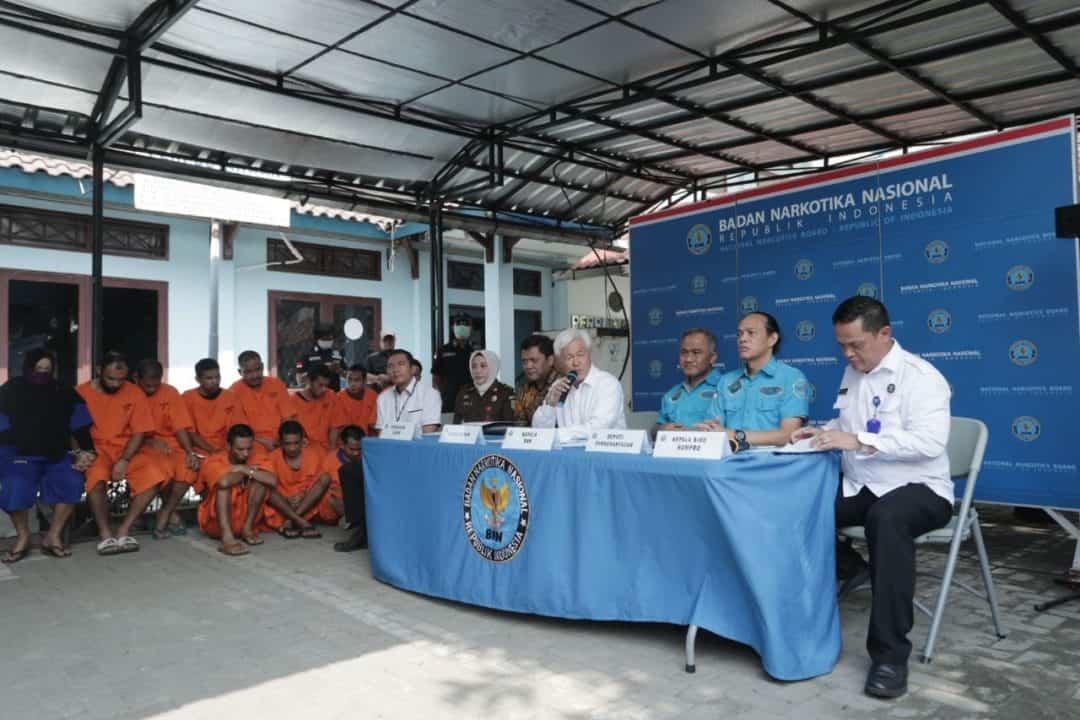 Gelar Pemusnahan Kesebelas BNN Musnahkan 82 Kg Sabu dan 107.837 Butir Ekstasi