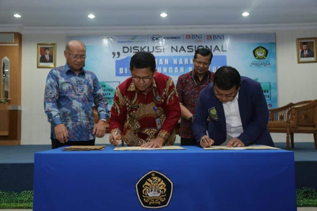 Geram Nama Kampusnya Terseret Kasus Narkoba, Alumni Universitas Pancasila Bentuk Satgas Narkoba