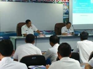 rangkaian kegiatan Bimtek Satker Pelaksana Program Dayatif di Kalimantan Selatan