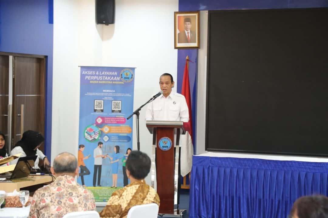 BNN Jalin Kerja Sama Dengan Penyedia Jaringan Telekomunikasi