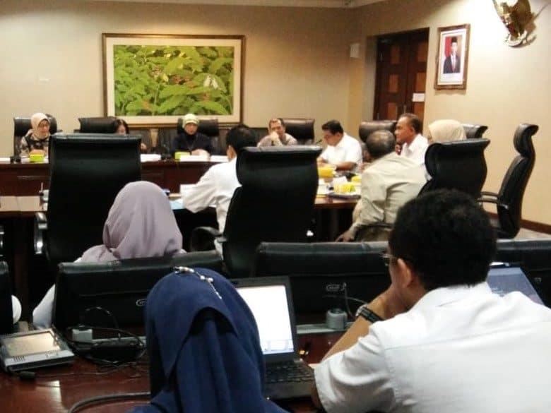Rapat koordinasi masalah kratom dengan Kepala Staf Presiden Kantor Staf Presiden Bina Graha Jakarta