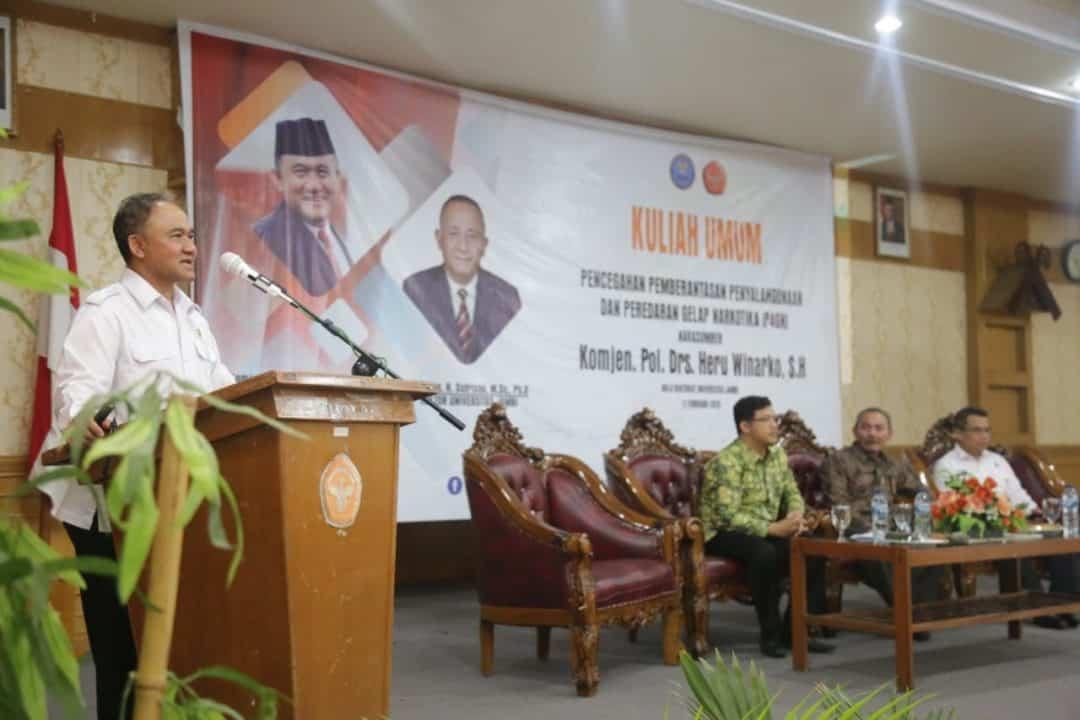 Kepala BNN RI Sarankan KKN Mahasiswa Di Daerah Rawan Narkoba