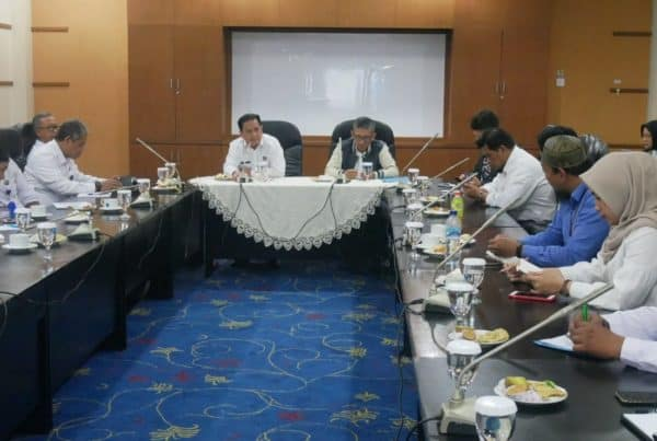 Entry meeting Pemeriksaan BPK Pada Satker Lido