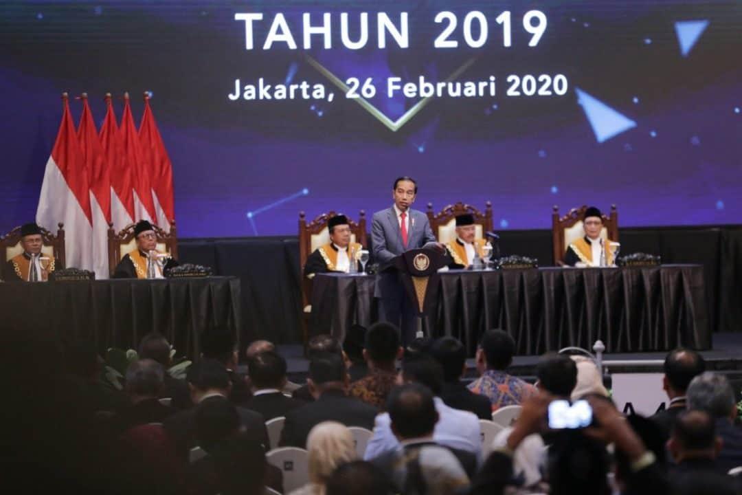 Kepala BNN Hadiri Laporan Tahunan Mahkamah Agung Tahun 2019