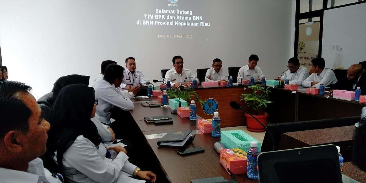 Entry Meeting Pemeriksaan BPK-RI pada BNNP Kepulauan Riau dan Loka Rehabilitasi Batam