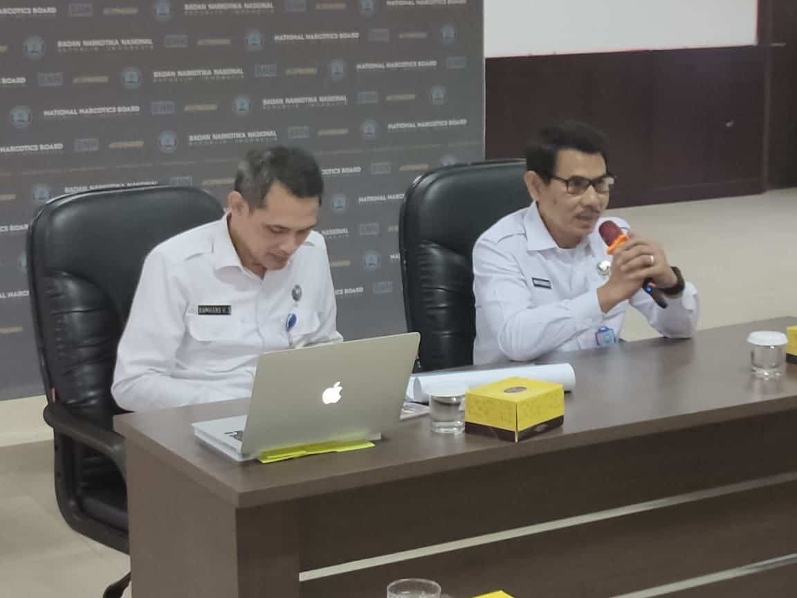 Rapat Koordinasi awal dalam rangka Persiapan penilaian Pelaksanaan PMPRB v.2.5 di Lingkungan badan narkotika nasional.