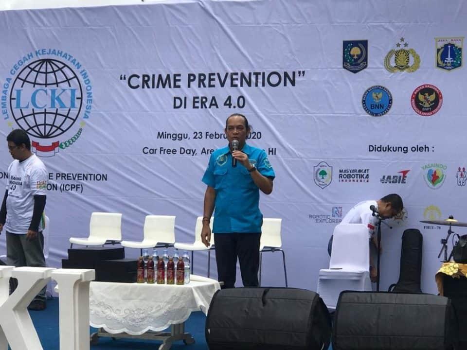 """Pameran Car Free Day """"Crime Prevention"""" Menuju Indonesia Maju"""