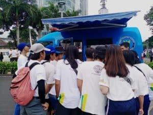 "BNN Fasilitasi tes urine untuk peserta Car Free Day ""Crime Prevention"" menuju Indonesia Maju"
