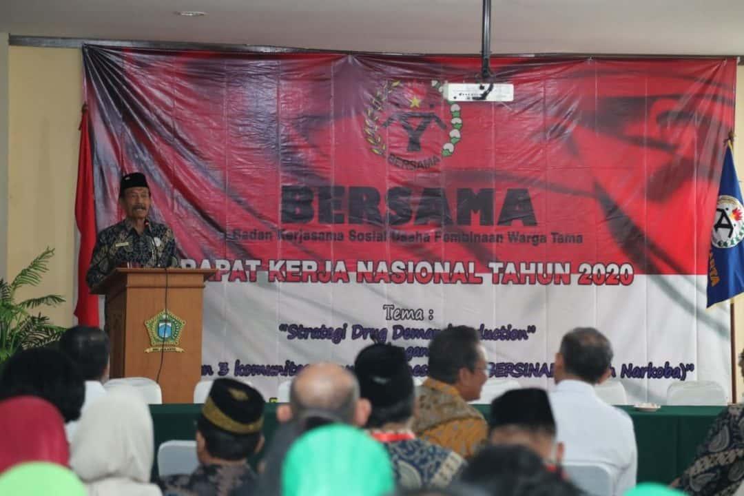 Kepala BNN Hadiri Rakernas DPP Bersama