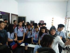 Kunjungan Sekolah SMU Highfield Duren Sawit ke Toko StopNarkoba