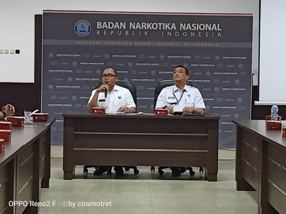 Sosialisasi Peraturan Kode Etik dan Disiplin Ringan Pegawai di Lingkungan BNN