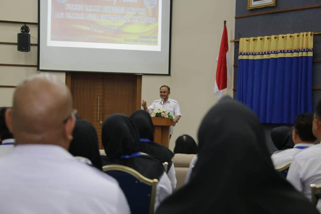 Kepala BNN Harapkan Seluruh Kabid Rehabilitasi Mampu Lakukan Rehab Bagi Pecandu Narkoba