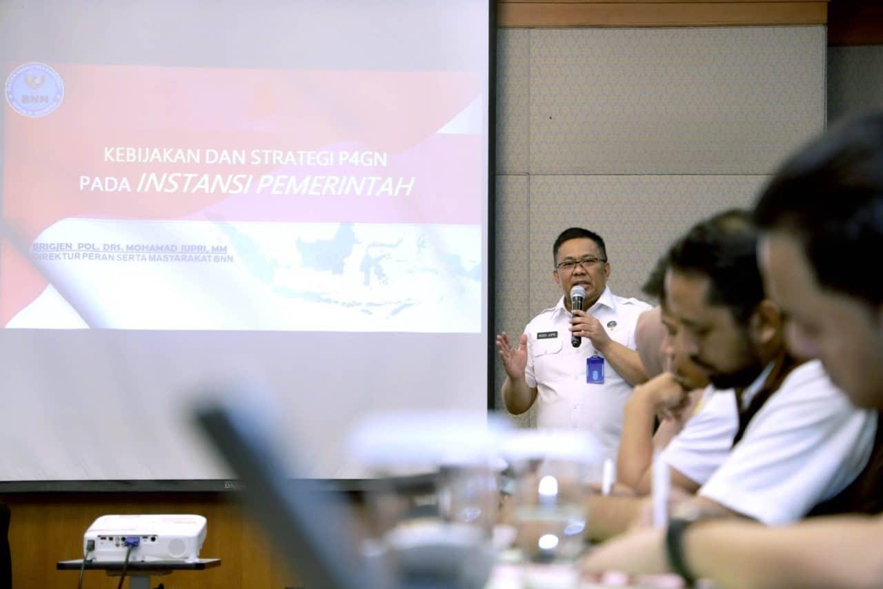 BNN Ajak Kementerian/ Lembaga Dan BUMN Bentuk Penggiat Anti Narkoba