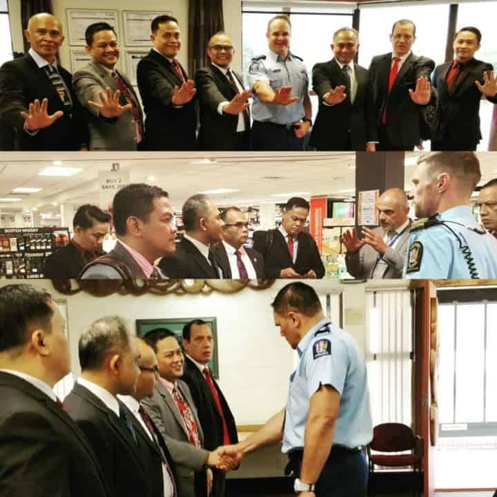 Delegasi BNN RI Tinjau Fasilitas Keamanan Bandara Wellington – Selandia Baru