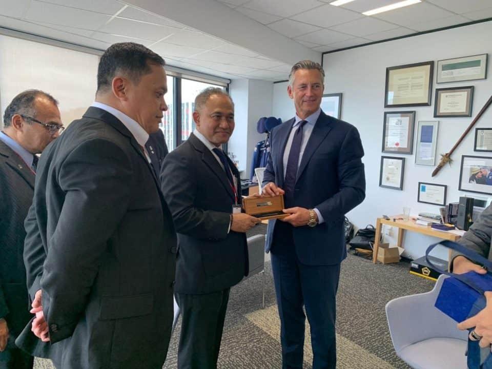 BNN RI Jalin Kerjasama Dengan Pusat Pendidikan Polisi Selandia Baru