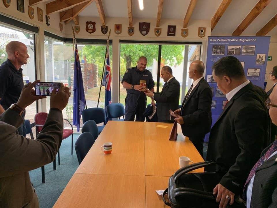 Kepala BNN RI Kunjungi Police Dog Training Centre Dan Victoria University Di Selandia Baru