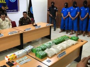 BNN RI Ungkap Jaringan Sindikat Narkoba Internasional di Dumai