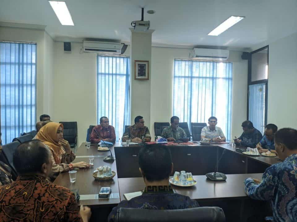 Exit Meeting pemeriksaan BPK-RI pada BNNP Bali beserta jajarannya