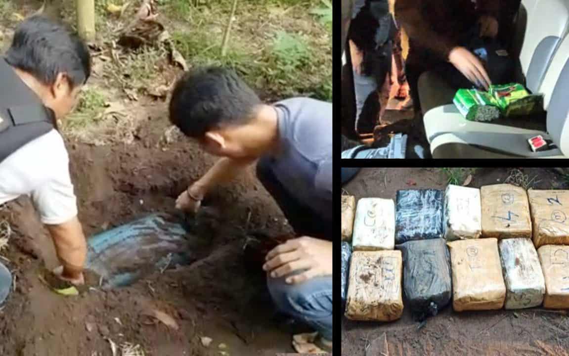 Corona Tak Lumpuhkan Bandar,BNN Sita 32 Kg Shabu Asal Malaysia