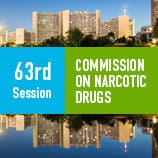 63rd session of the Commission on Narcotic Drugs starts on Monday