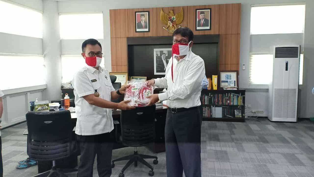 BNNP Aceh Gandeng Unsyiah Saluran Bantuan Masker Kepada Masyarakat Di Banda Aceh
