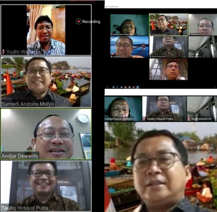 Rapat koordinasi implementasi Inpres 2/2020 dan penguatan GDAD di Aceh oleh Bappenas & BNN