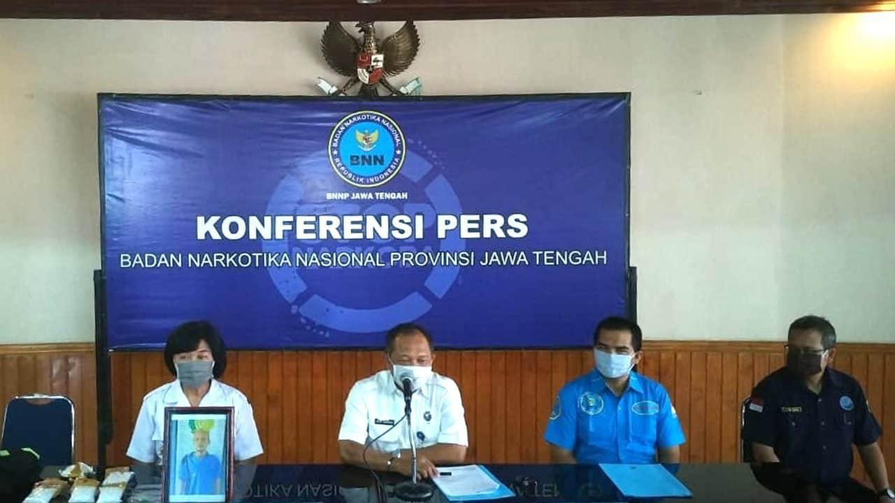 BNNP Jateng Ungkap Peredaran Narkotika Jaringan Batam – Jepara – Cilacap