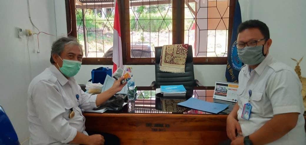 Terletak Ujung Di Selatan Indonesia, BNNK Rote Ndao Tetap Lakukan Protokol Pencegahan COVID-19