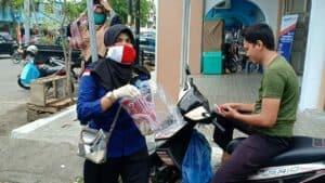BNNP Aceh : Bagikan MaskerMerahPutih, Semangat Cegah Narkoba Di Tengah Wabah Corona