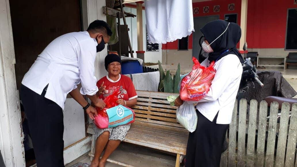 BNNK Samarinda Bantu Warga Terdampak Corona